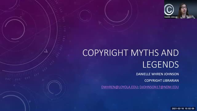 Copyright Myths and Legends