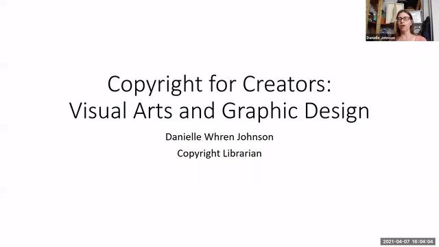 Copyright for Creators: Visual Arts and Graphic Design