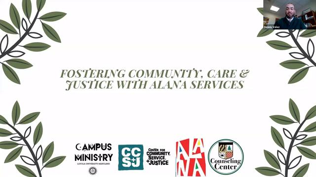 Fostering Community, Care, and Justice