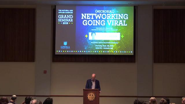 (Microbial) Networking Going Viral